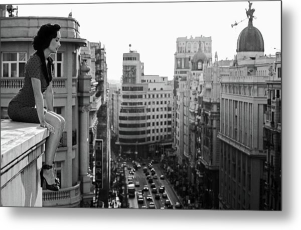 Mad Madrid Metal Print by Alejandro Marcos