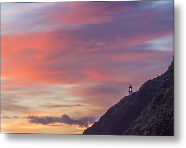 Makapuu Lighthouse 3 Metal Print