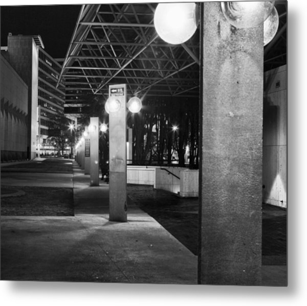 Marcus Center For The Performing Arts Metal Print by Ricky L Jones