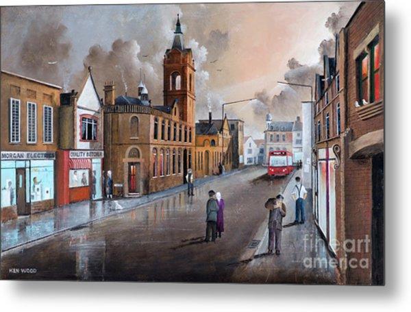Market Street - Stourbridge Metal Print