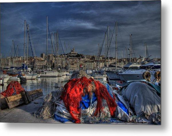 Marseille Metal Print