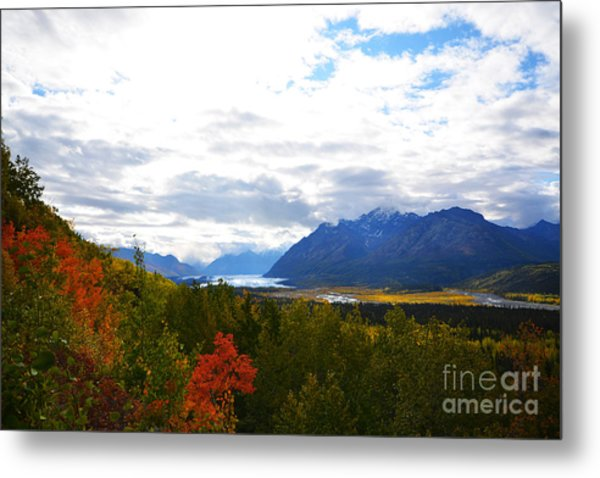 Metal Print featuring the photograph Matanuska Glacier by Kate Avery