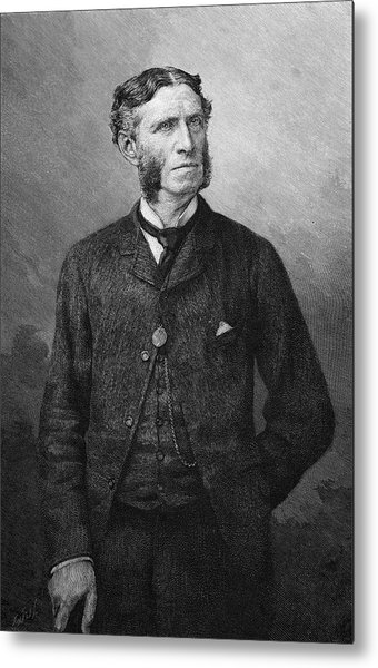 Matthew Arnold  Writer And Critic Metal Print by Mary Evans Picture Library