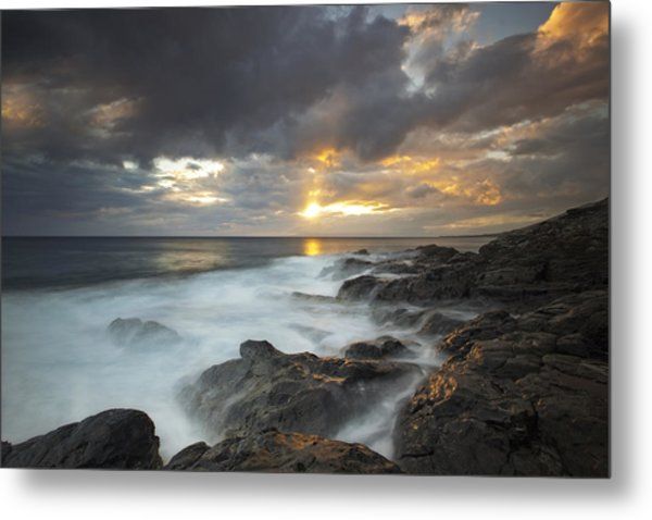 Maui Seascape Metal Print