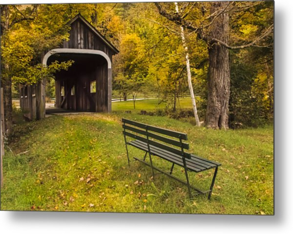 Mcwilliams Covered Bridge Metal Print