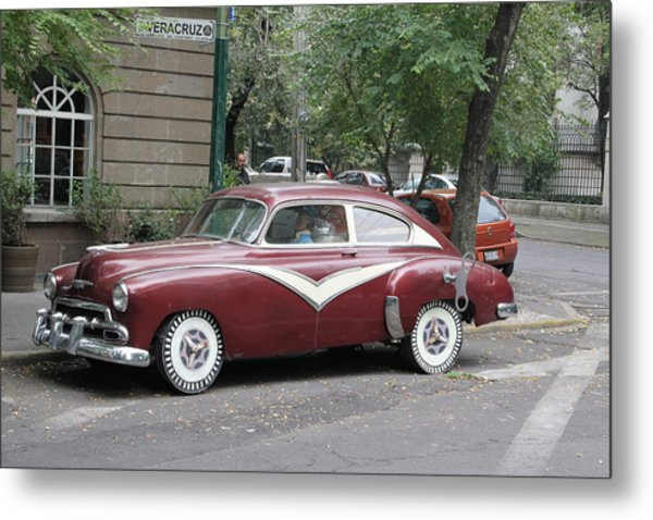 Mexico City Metal Print by Jim McCullaugh