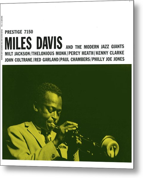 Miles Davis -  Miles Davis And The Modern Jazz Giants (prestige 7150) Metal Print