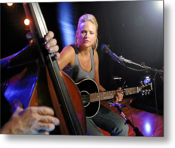 Miranda Lambert Metal Print by Don Olea