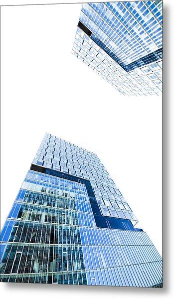 Modern Buildings Metal Print by Ioan Panaite
