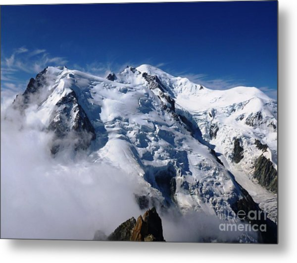 Metal Print featuring the photograph Mont Blanc - France by Cristina Stefan