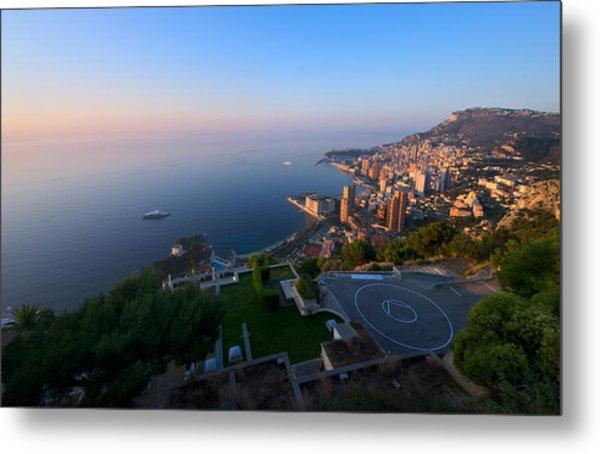 Monte Carlo Metal Print by Ioan Panaite