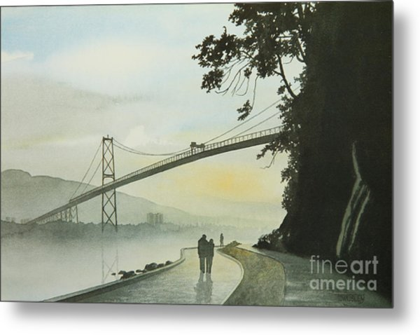 Morning Stroll Metal Print