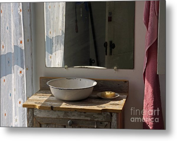Morning Toilette Metal Print