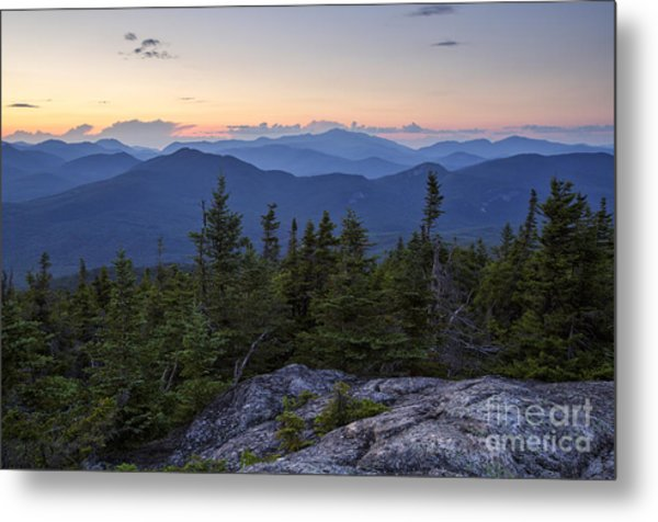 Mount Chocorua Scenic Area - Albany New Hampshire Usa Metal Print