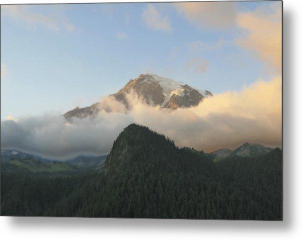 Mount Rainier Metal Print