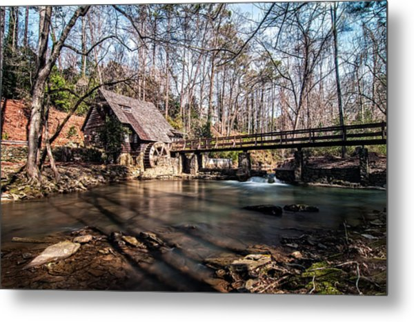 Mountain Brook Mill Metal Print