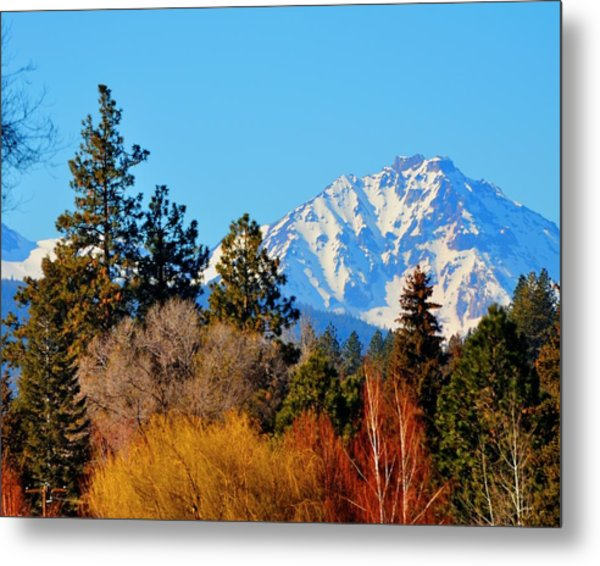 Mt Bachelor 21620 Metal Print