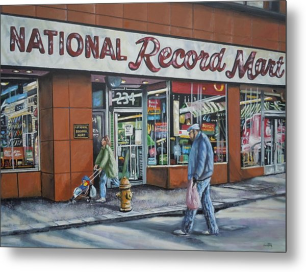 National Record Mart Metal Print