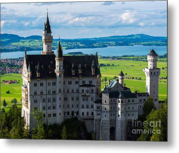 Neuschwanstein Castle - Bavaria - Germany Metal Print