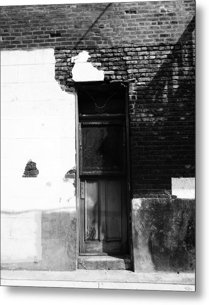 New Orleans Door Metal Print