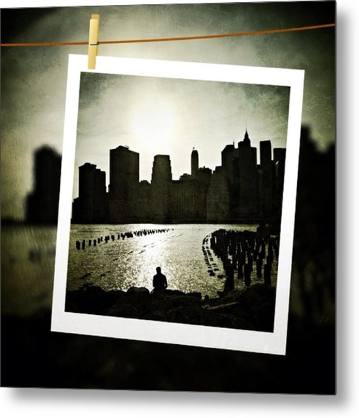 New York In June Metal Print