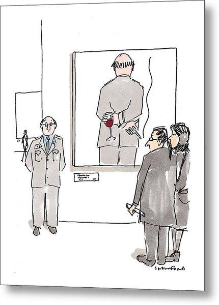 New Yorker December 7th, 1998 Metal Print