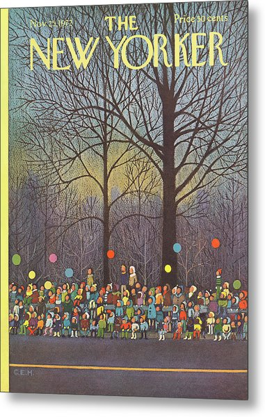 New Yorker November 25th, 1972 Metal Print