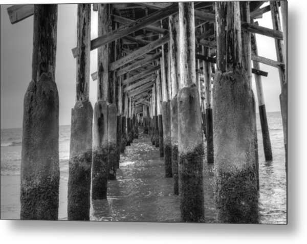 Newport Beach Pier Metal Print