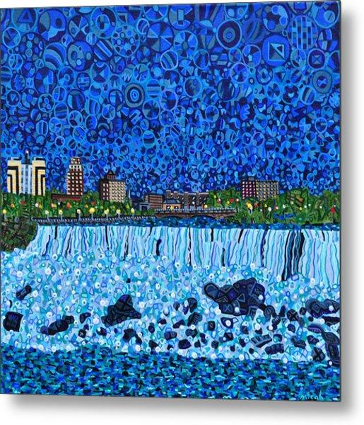 Niagara Falls Metal Print by Micah Mullen