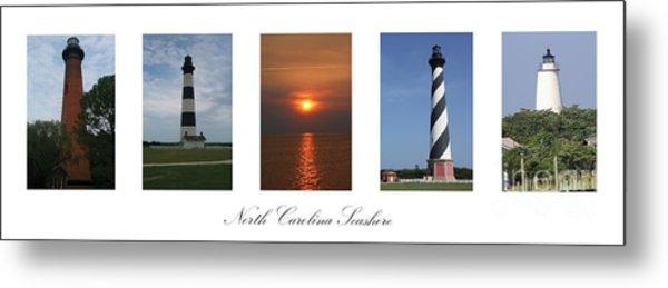 North Carolina Seashore Metal Print