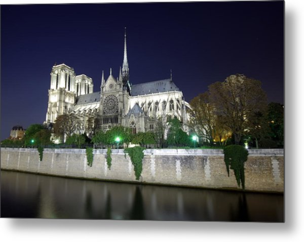Notre Dame Cathedral Metal Print by Ioan Panaite