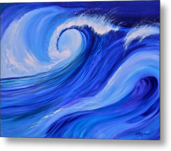 Ocean Emotion #1 Metal Print