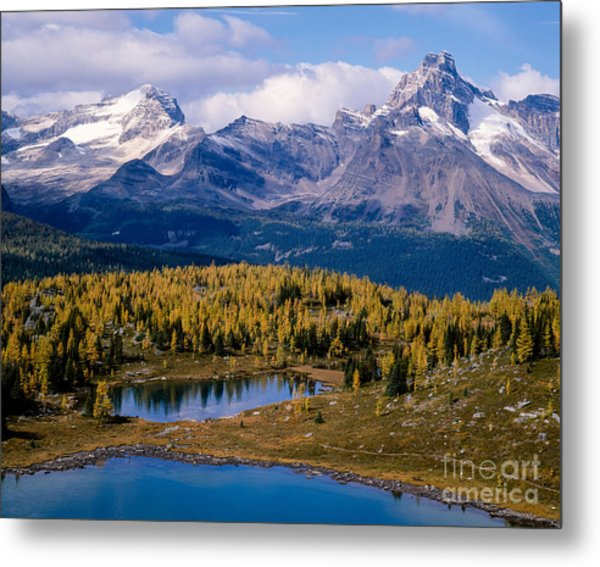 Odaray And Cathedral Mountains Metal Print