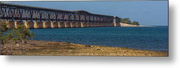 Old Bahia Honda Bridge Metal Print