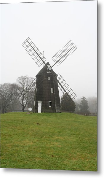 Old Hook Mill Metal Print