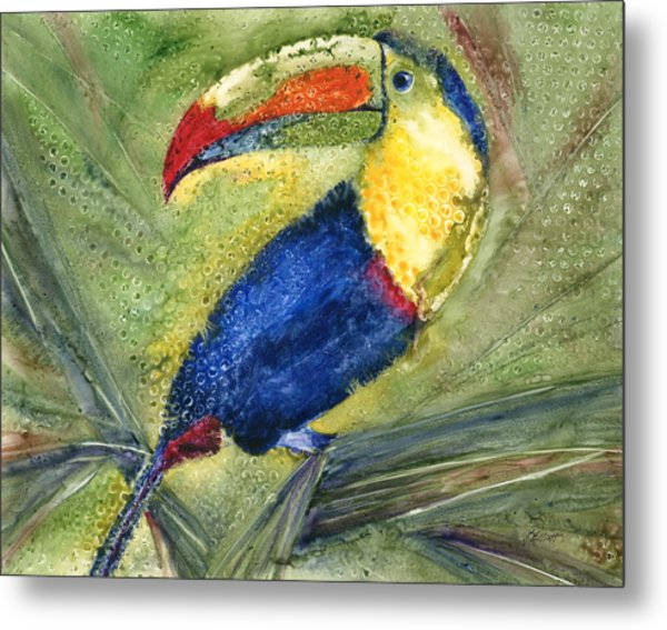 One Cant But Toucan Metal Print
