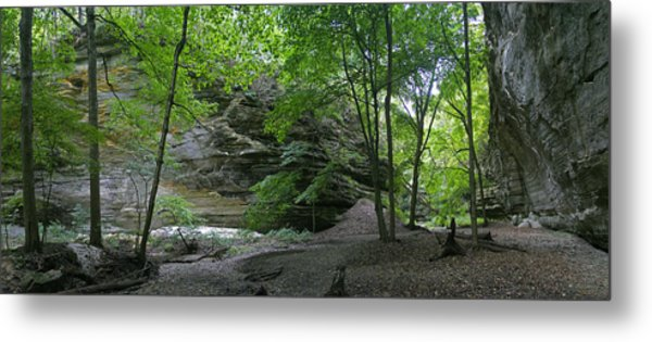 Ottawa Canyon Metal Print by Gary Lobdell