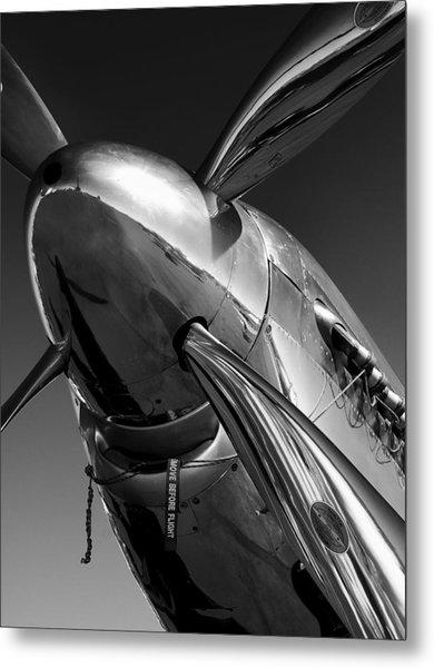 P-51 Mustang Metal Print