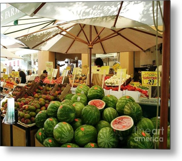 Palo Alto Shopping Center Metal Print