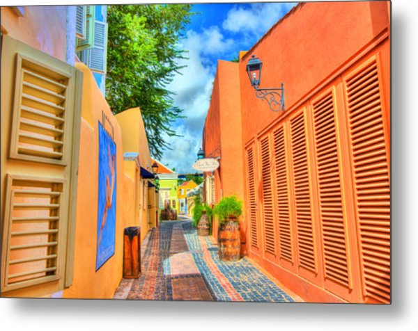 Paradise Colors Metal Print