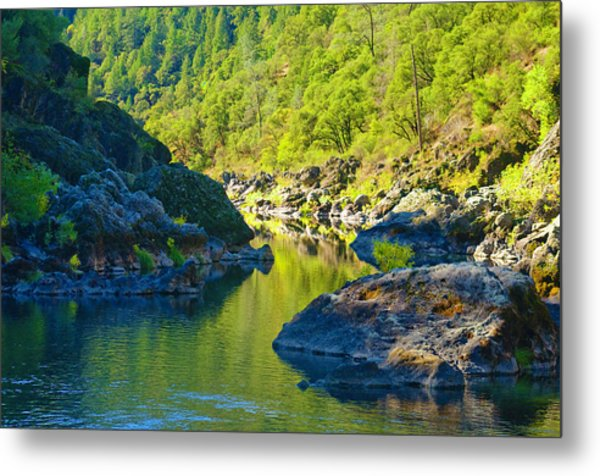 Metal Print featuring the photograph Peaceful Waters by Sherri Meyer
