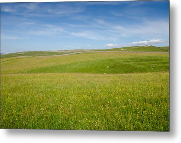 Peaceful Yorkshire Metal Print