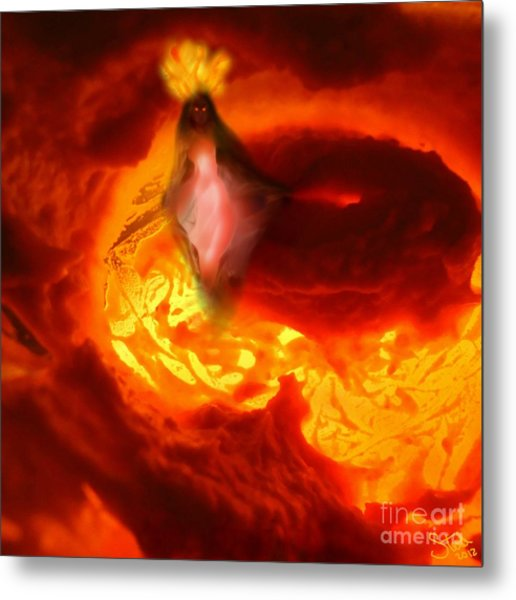 Pele Goddess Of Fire And Volcanoes Metal Print