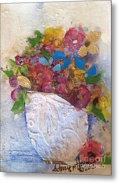 Petals And Blooms Metal Print