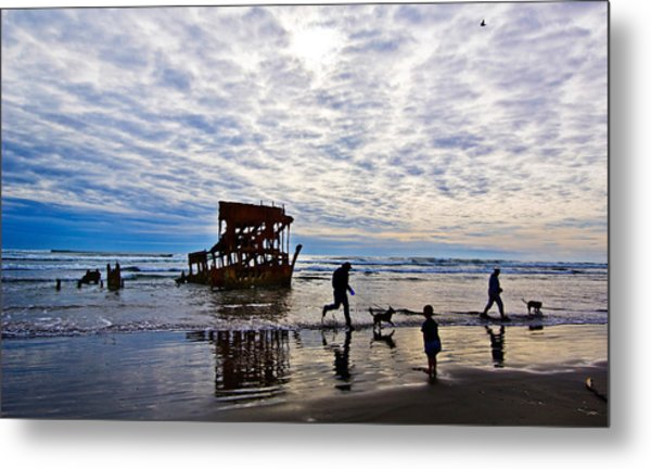 Peter Iredale Shipwreck, Fort Stevens Metal Print