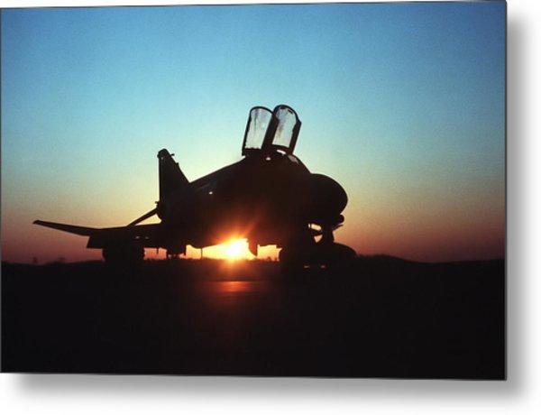 Phantom Sunrise Metal Print