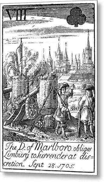 Playing Card, 1707 Metal Print