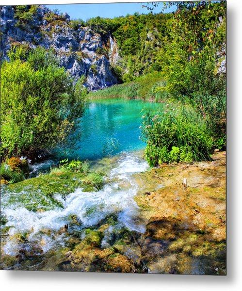 Plitvicka Jezera Metal Print