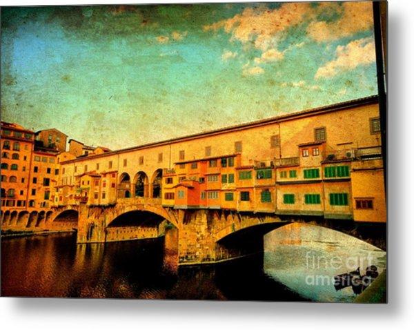 Ponte Vecchio 01 Metal Print