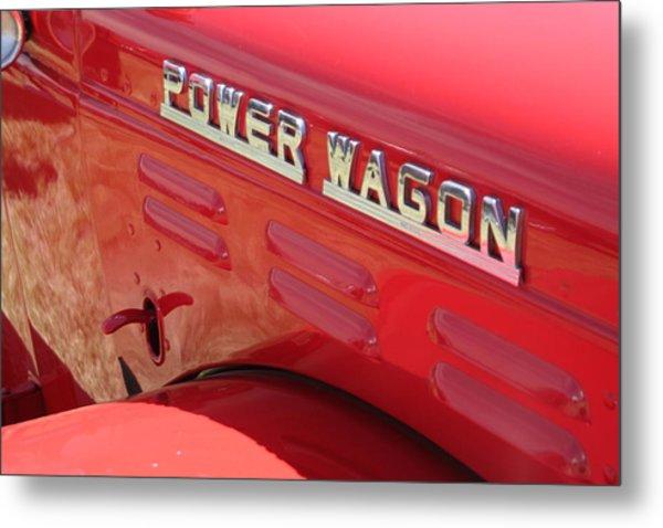 Power Wagon Metal Print